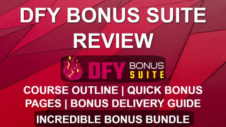 DFY Bonus Suite Review – Easy Bonus Delivery with WordPress