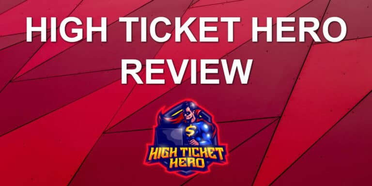 High Ticket Hero Review – Use Facebook for High Ticket Commissions