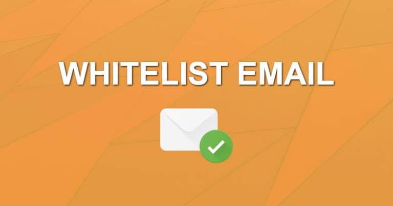 Whitelist Emails